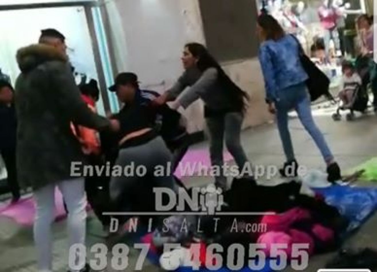 Captura del video enviado por seguidores al WhatsApp de DNIsalta.com - 0387 - 155460555