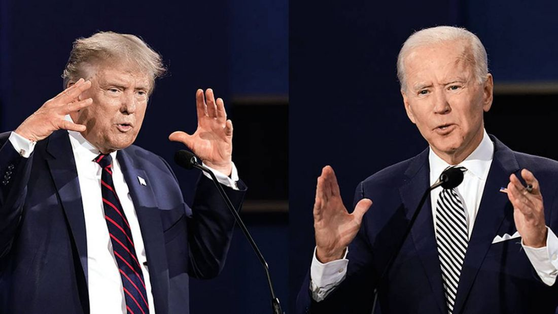 Donald Trump vs. Joe Biden, el republicano y el demócrata