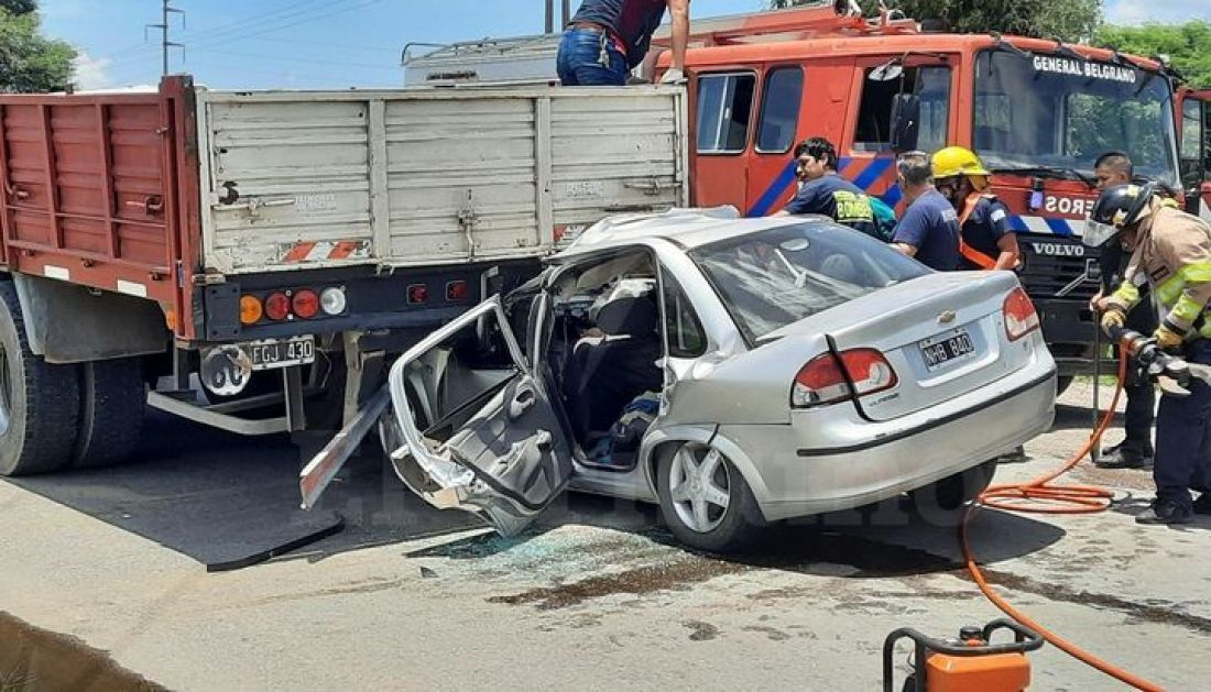 Tremendo accidente en General Güemes